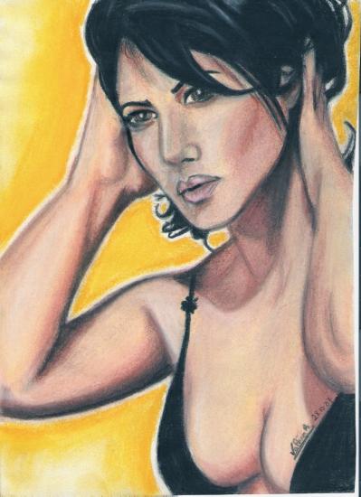 Monica Bellucci by mystique1981